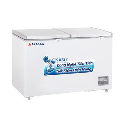 Tủ đông 2 cửa nắp đỡ Alaska HB-550N