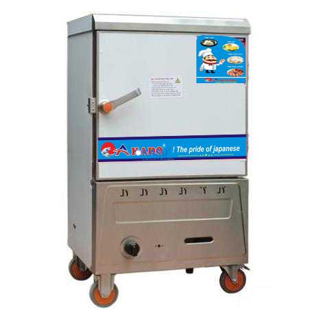 Tủ nấu cơm công nghiệp 6 khay ga AKADO