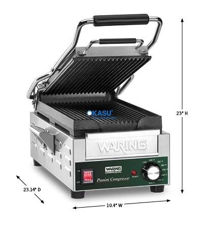 Máy ép nướng bánh Waring WPG200