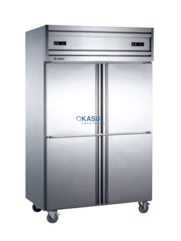 TỦ ĐÔNG MÁT 4 CÁNH INOX KOLNER KCD1.0L4 (Làm lạnh trực tiếp)