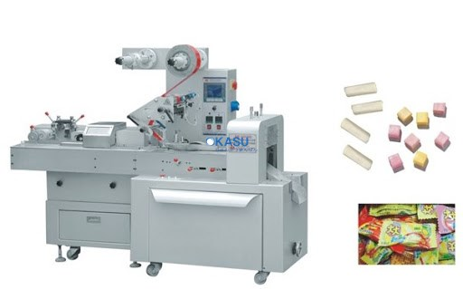 Máy cắt và đóng gói kẹo mềm tự động HTL-D808