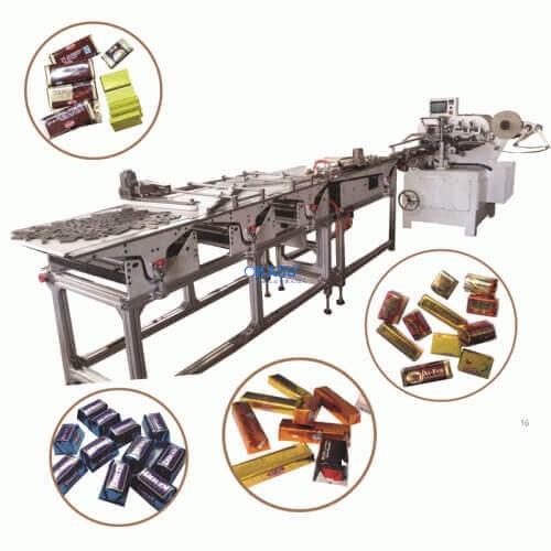 Máy đóng gói thanh socola tự động SC-2012