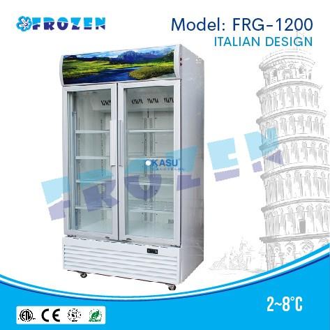 Tủ mát 2 cánh kính Frozen FRG-1200