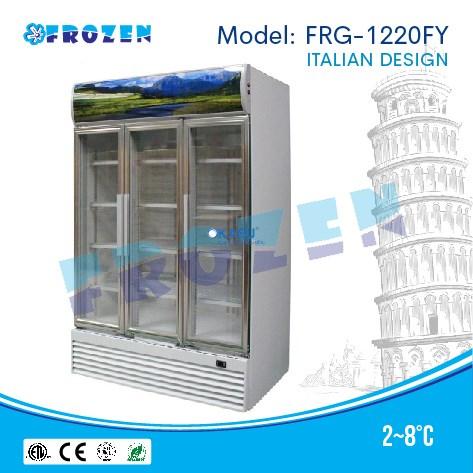 Tủ mát 3 cánh kính Frozen FRG-1220FY