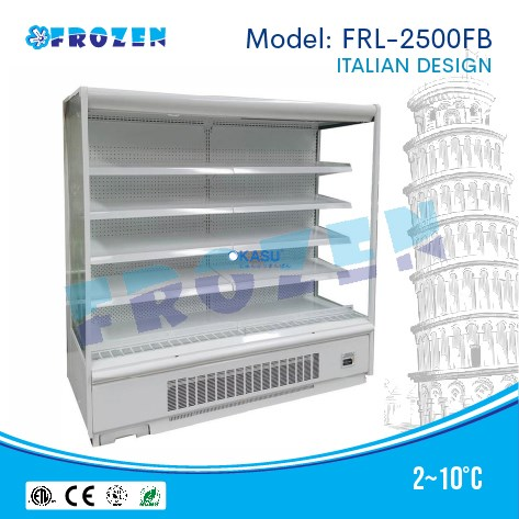 Tủ trưng bày siêu thị Frozen FRL-2500FB