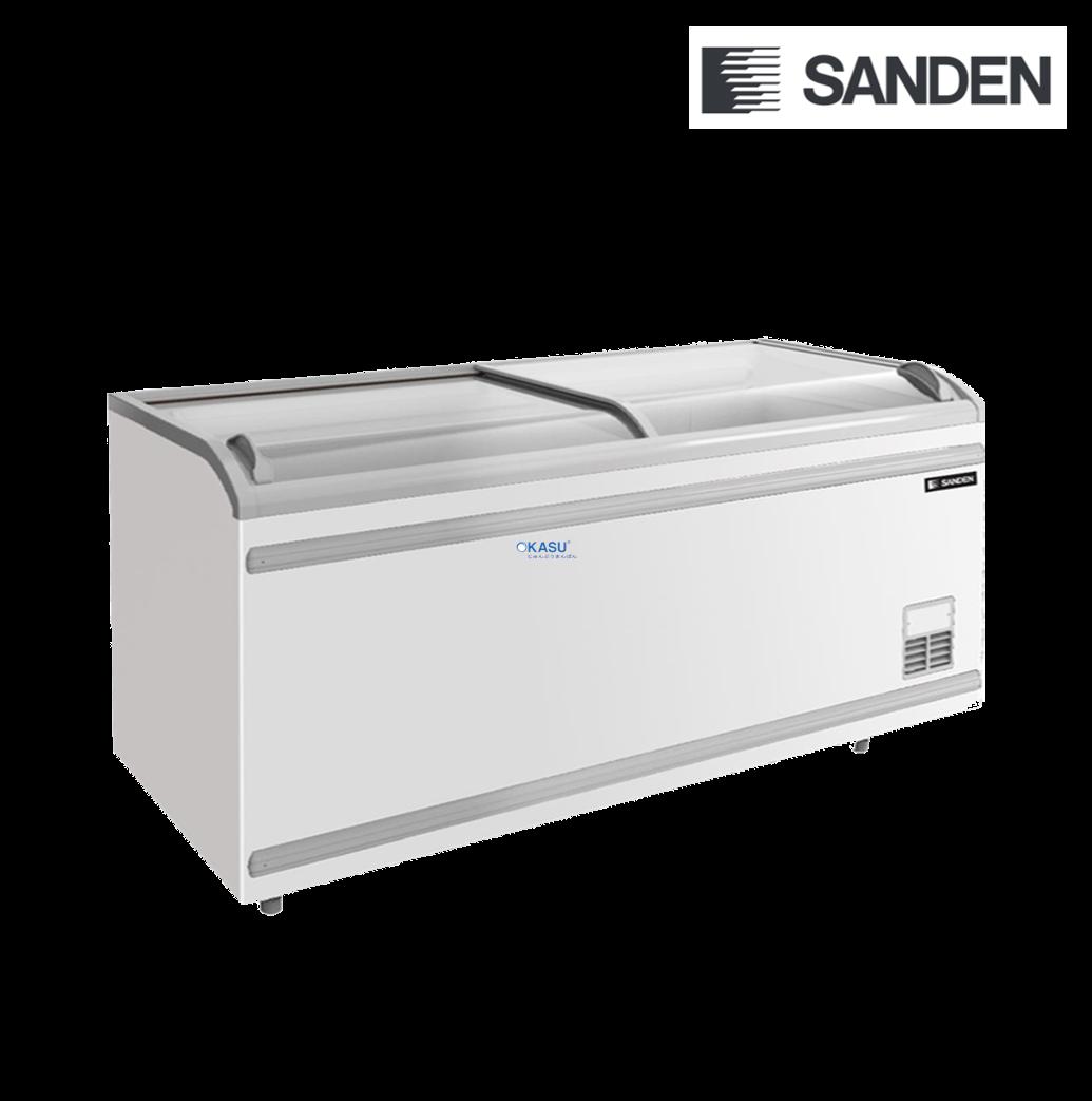 Tủ đông mặt kính Sanden Intercool SNC-0855