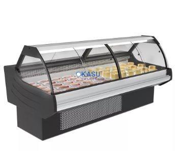 Tủ trưng bày thịt nguội siêu thị Okasu OKSSLZ-2000C