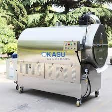 Máy rang hạt dùng gas LQ-200GX