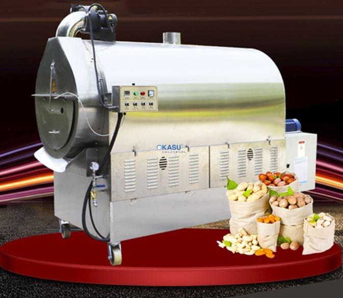 Máy rang hạt dùng gas LQ-400GX