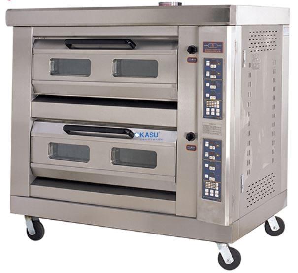 Lò nướng bánh dùng gas 2 tầng, 4 khay GFO-4C