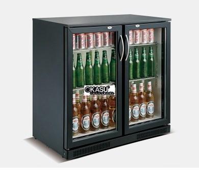 Tủ lạnh quầy bar 2 cánh kính mini OKASU SC-228F - ảnh 1
