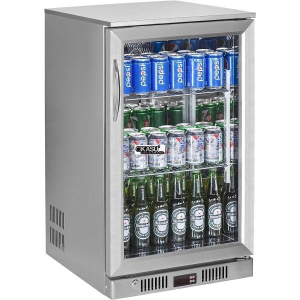 Tủ mát quầy bar mini 1 cánh kính OKASU SC-128FS - ảnh 1