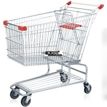 Xe đẩy siêu thị OKASU OKA-240L - ảnh 3