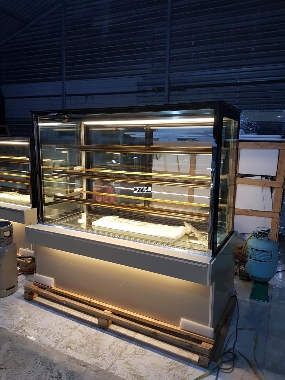 Tủ trưng bày bánh kem 4 tầng OKASU OKA-1500M - ảnh 3
