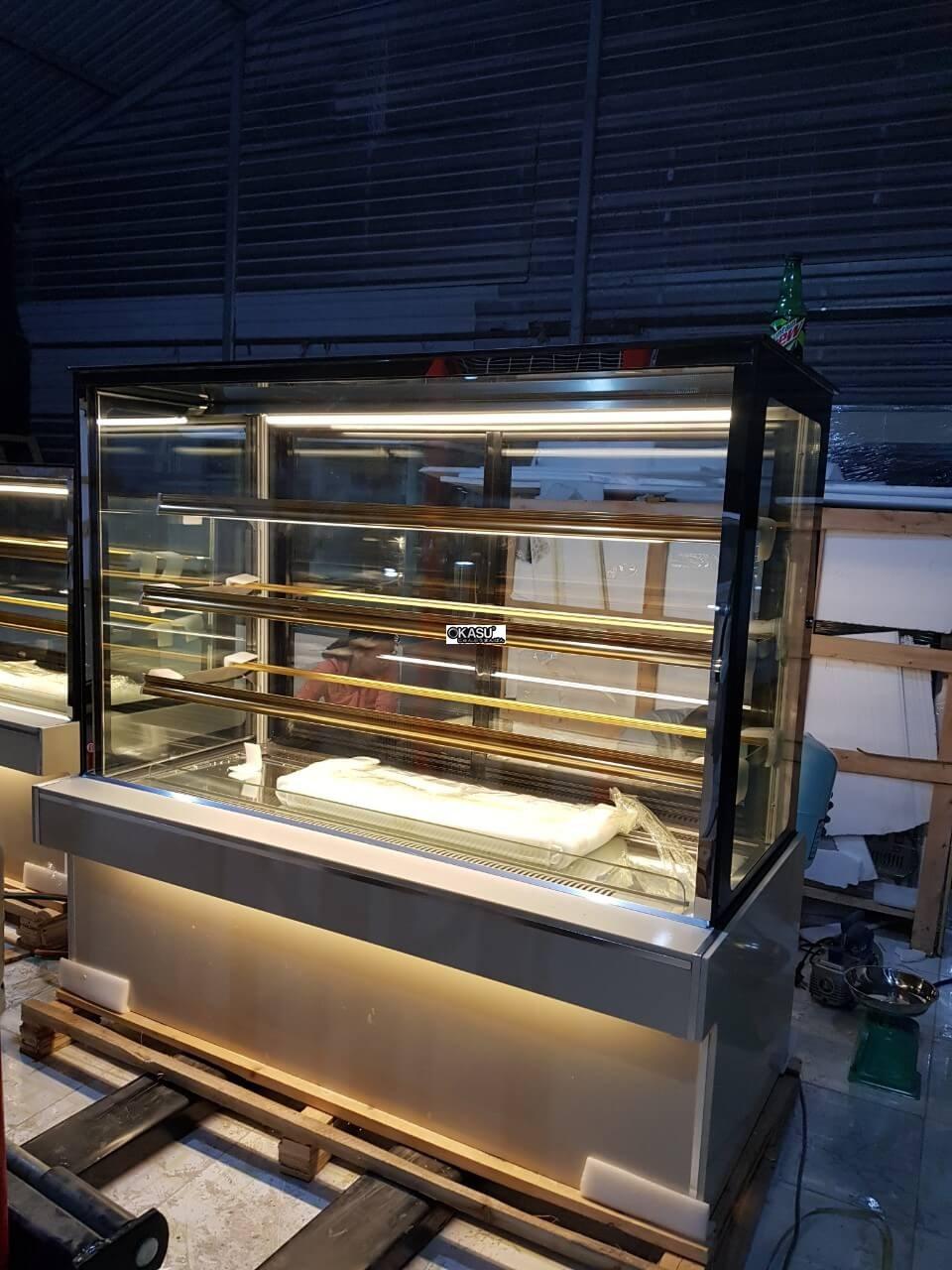 Tủ trưng bày bánh kem 4 tầng OKASU OKA-1500M - ảnh 4