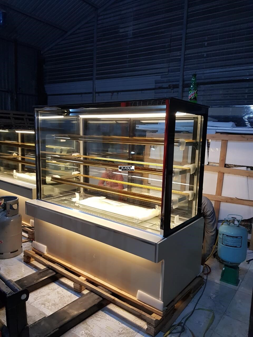 Tủ trưng bày bánh kem 4 tầng OKASU OKA-1500M - ảnh 5