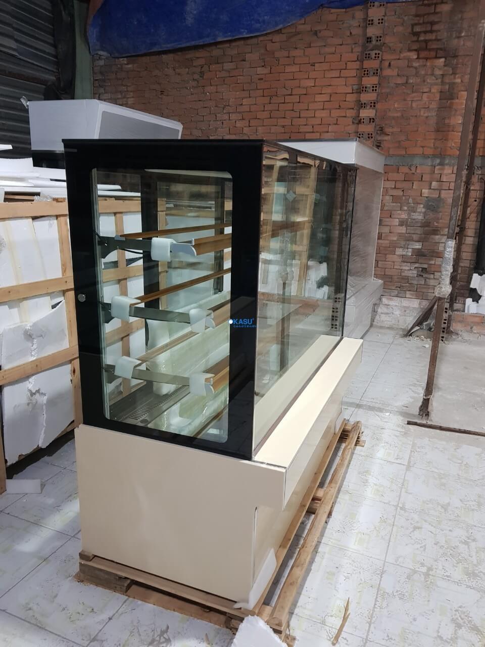 Tủ trưng bày bánh kem 4 tầng OKASU OKA-1500M - ảnh 6