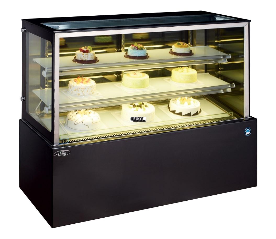 Tủ trưng bày bánh kem hai lớp OKASU OKS-G910FJ - ảnh 1