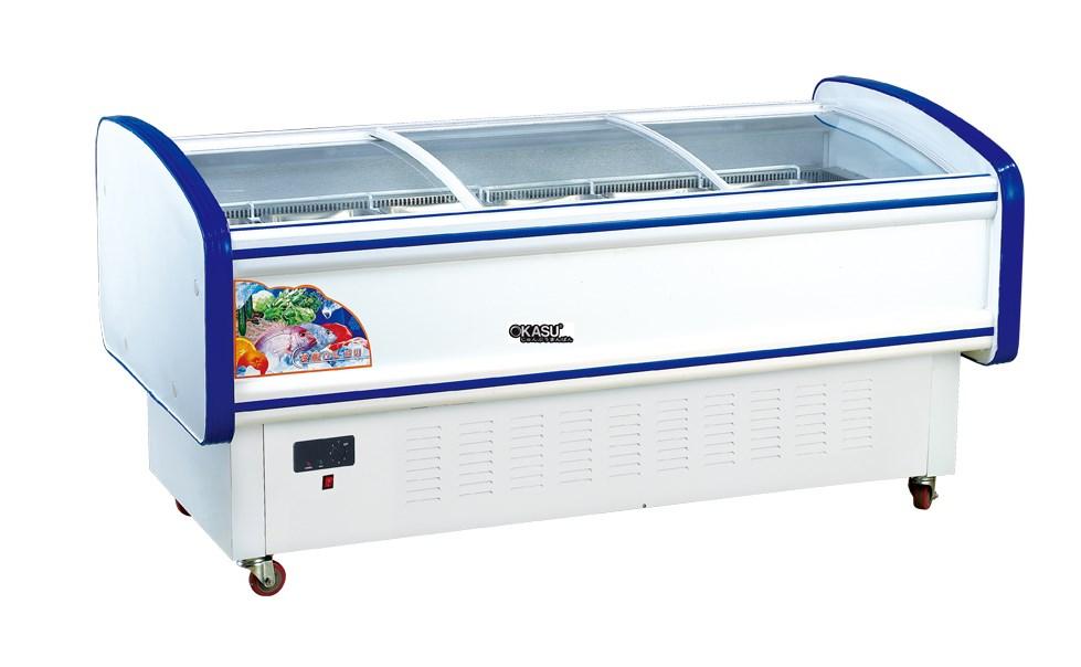 Tủ đông siêu thị OKASU DCT-15 - ảnh 1