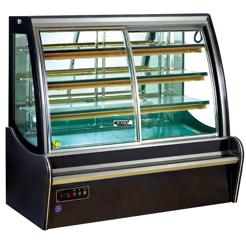 Tủ trưng bày bánh kem cửa trước OKASU OKS-G800FQ - ảnh 1