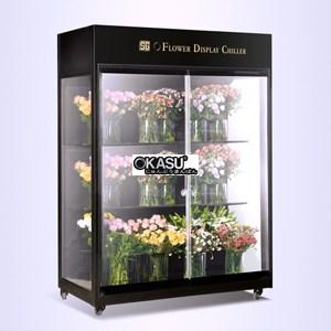 Tủ trưng bày và bảo quản hoa tươi OKASU OKS-SG09YG - ảnh 1