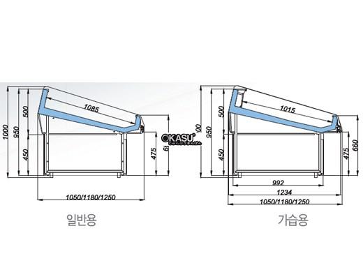 Tủ trưng bày hải sản OPO SMF0N2-10NG - ảnh 1